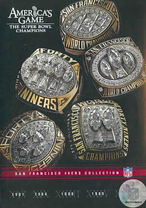 NFL AMERICAS GAME:SAN FRANCISCO 49ERS (DVD) [5 DISCS]